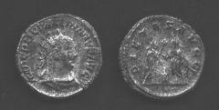 Valeriano I padre - Antoniniano
