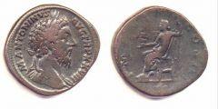 Marco Aurelio - Sesterzio