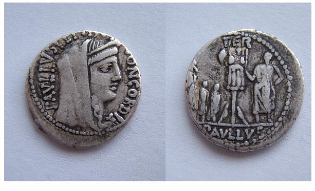 L.Aemilius Lepidus Paullus  62 a.C. (Aemilia 10)