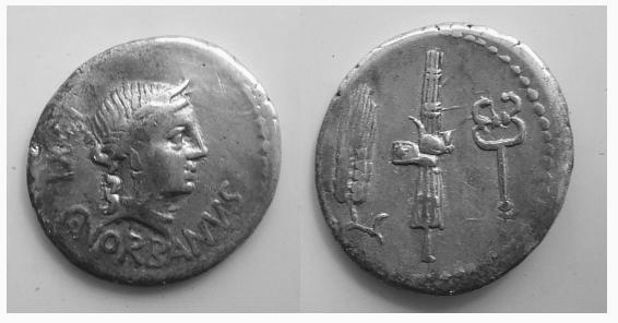 Caius Norbanus 83 a.C ( norbana 2)