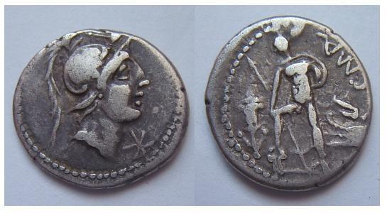 C.Poblicius Malleolus 96 a.C (Poblicia 6)