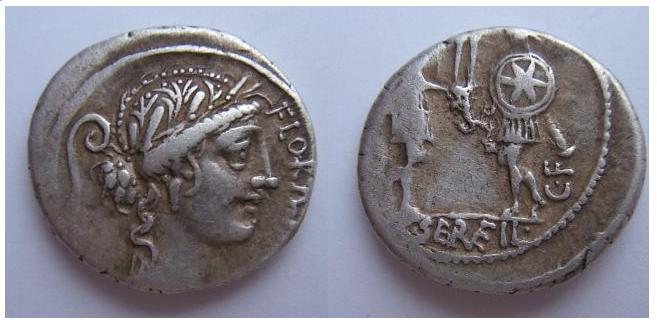 C.Servilivs C.F. 57 a.C. (Servilia 15-15a)