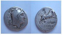 Lucivs Thorivs Balbvs 105 a.C (Thoria 1)