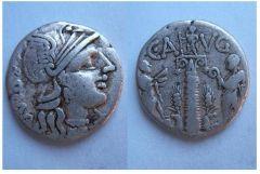 Caius Minucius Augurinus 135 a.C. (Minucia 3)