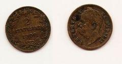 2 centesimi Valore 1900