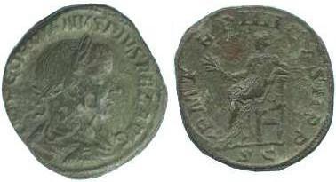 Sesterzio Gordiano III 241-242 AD