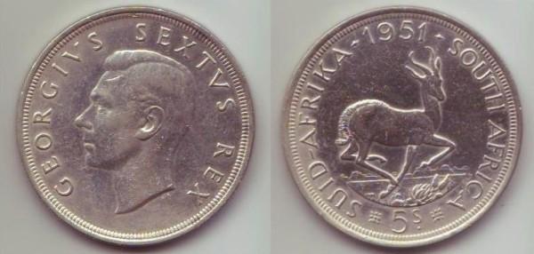 corona Sudafrica Giorgio VI rex (sec. tipo)