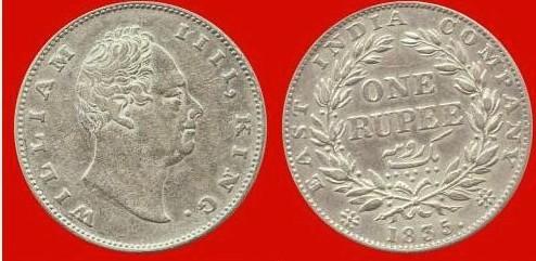 Rupia Compagnia India Orientale Britannica