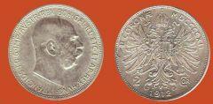 2 corone Austria-Ungheria, secondo tipo