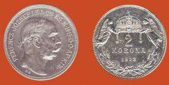 2 corone Regno d'Ungheria