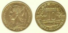 10 franchi prova Isole Comore