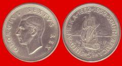 Corona Sudafrica Giorgio VI commemorativa