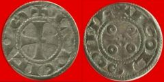 denaro di Luigi IV , zecca di Angouleme (F) XII-XIII secolo
