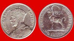 Fiorino Rhodesia meridionale Giorgio V