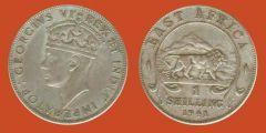 scellino Africa Orientale Britannica, Giorgio VI imperatore