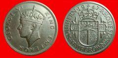mezza corona Giorgio VI - quarto tipo