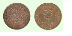 2 ½ centesimi di Gulden Indie Olandesi (Indonesia)