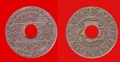 25 centesimi Marocco protett. francese