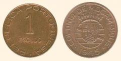 1 escudo Mozambico secondo tipo