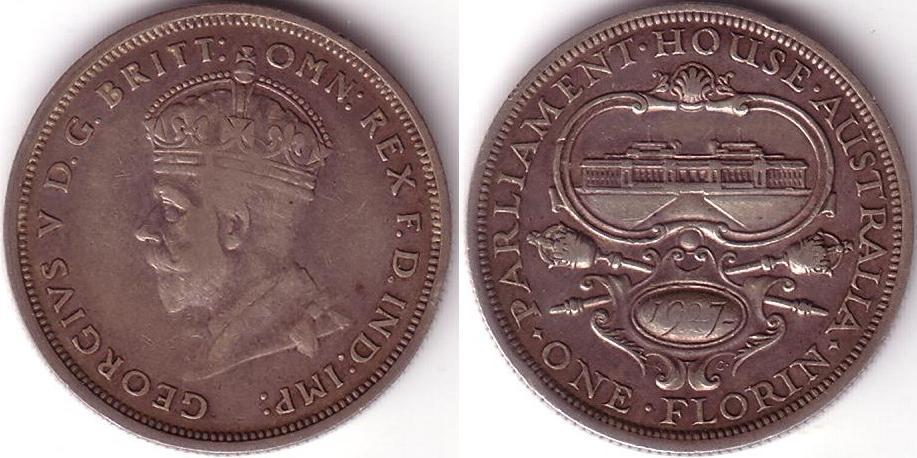 1 Florin – 1927