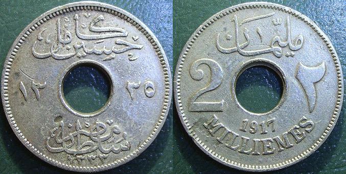 2 Milliemes – 1917
