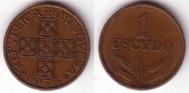 1 Escudo - 1975