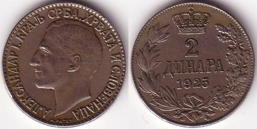 2 Dinara - 1925