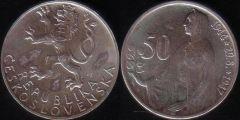 50 Korun - 1947