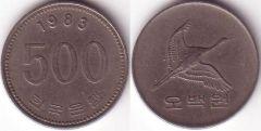 500 Won - 1983