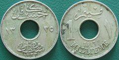Egitto – 1 Millieme – 1917