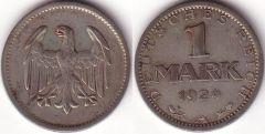 Germania – 1 Mark – 1924 A