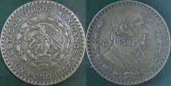 Messico – 1 Peso – 1957