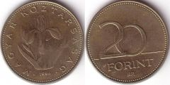 Ungheria - 20 Forint – 1994