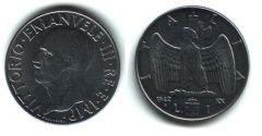 1 lira 1942 - V.E. III