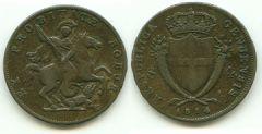 4 soldi 1814 - Repubblica Genovese
