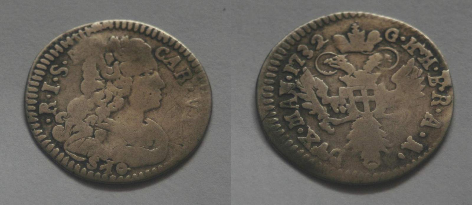 10 Soldi, Carlo VI Asburgo