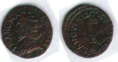 Quattrino con cappello, Francesco II Gonzaga