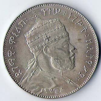Birr di Menelik II (1889-1913)