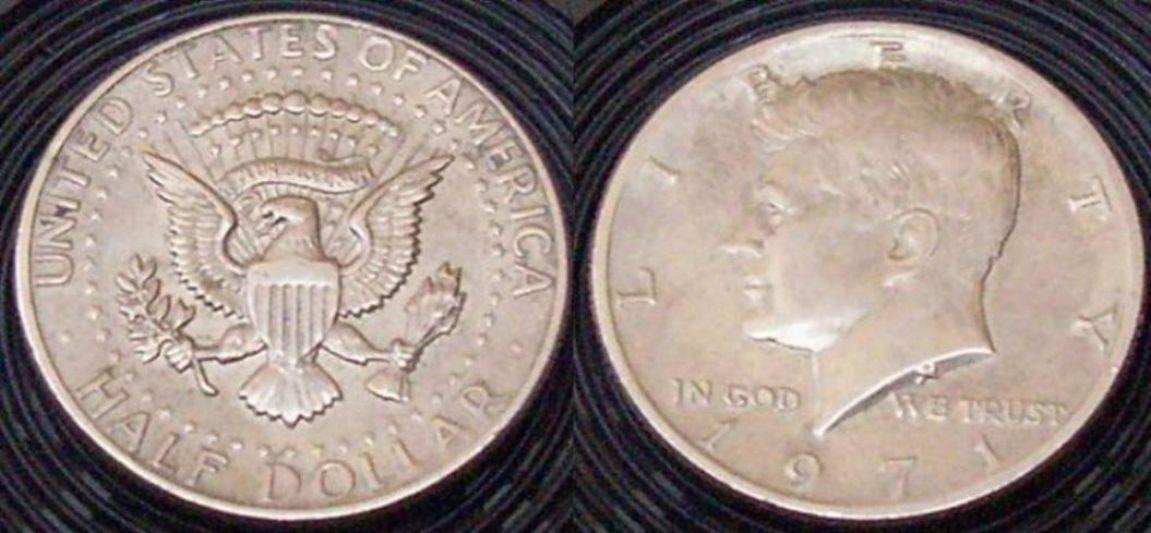 Mezzo dollaro 1965 - 1978 Kennedy U.S.A.