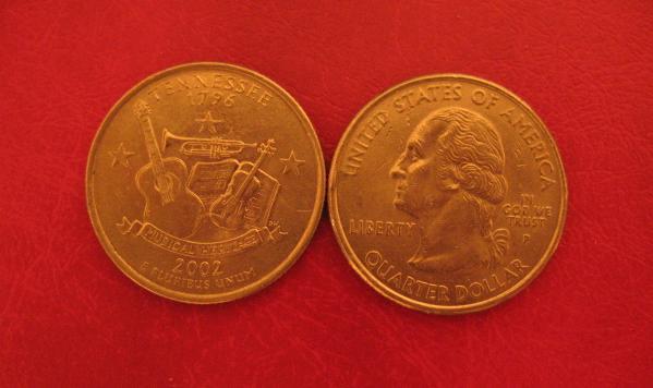 Stati Uniti d'America Quarter Dollar 2002 Tennessee