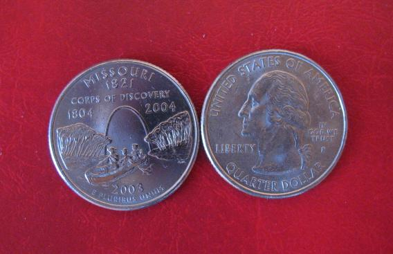 Stati Uniti d'America Quarter Dollar 2003 Missouri