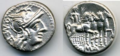 CAECILIA 130 a.C.