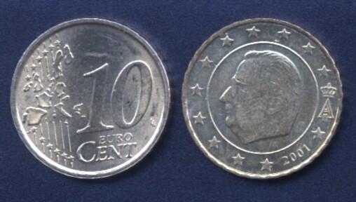 Belgio 10 cent