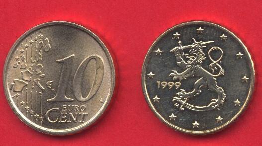 10 cent Finlandia 1999 - 2006