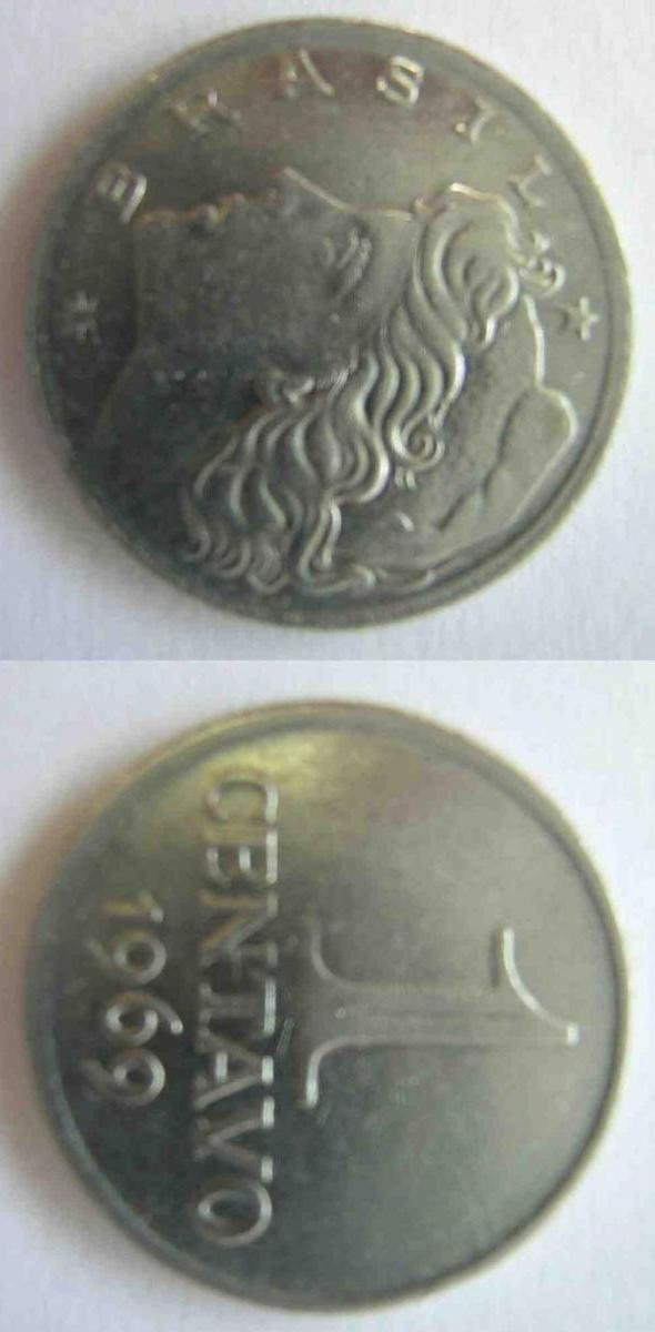 1 centavo di Cruzeiro