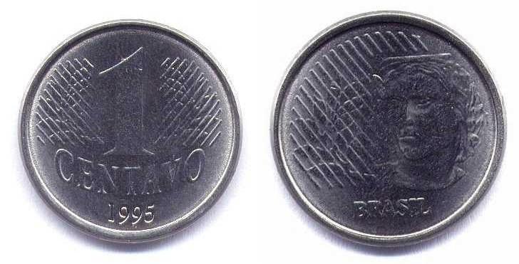 1 centavo real