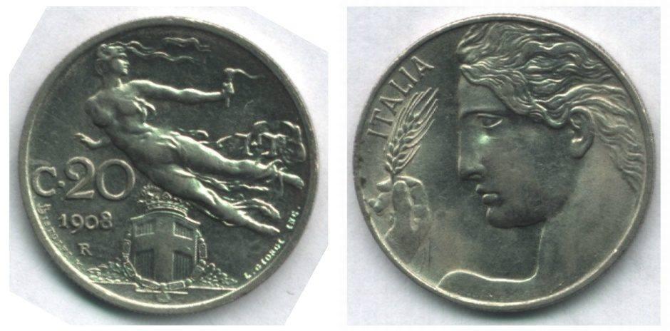 20 centesimi Libertà Librata