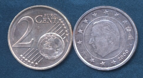 Belgio 2 cent