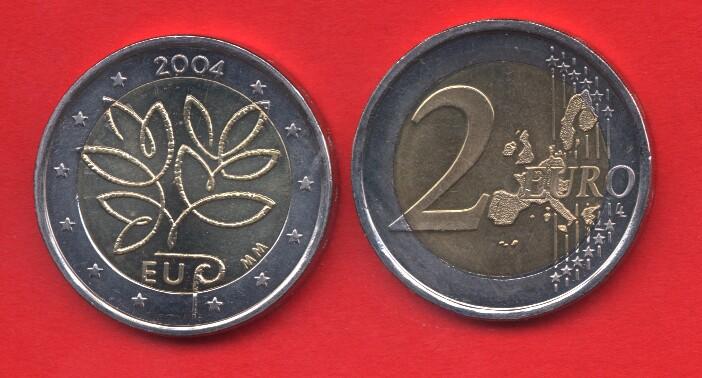 2 Euro Commemorativo 2004 Finlandia