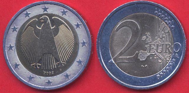 Germania 2 Euro 2002 - 2006